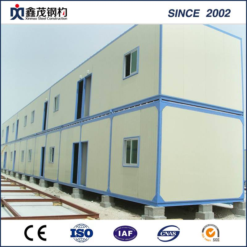 China Flat Pack Container Hosue Camp nokuda Workers Living