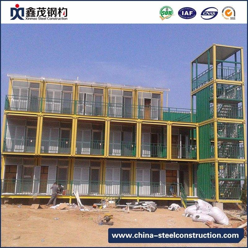 China Low Cost Prefab Container House Dormitory for Students Dorm