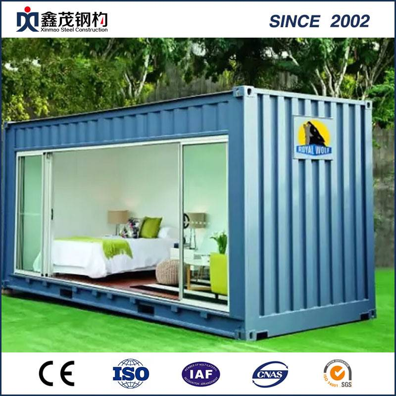 China Modular Portable Standard Modified Shipping Container House with Toilet