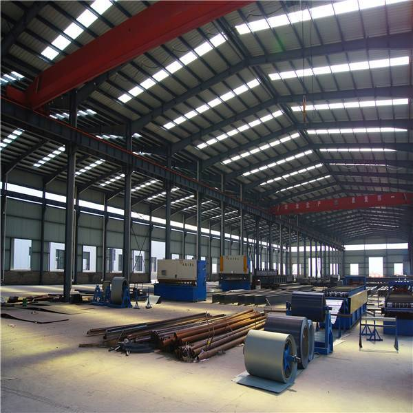Customized Prefabricated Steel Structure Building From Shandong