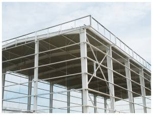 Top Quality Low Kostnaður Prefab Steel Structure með Professional Design