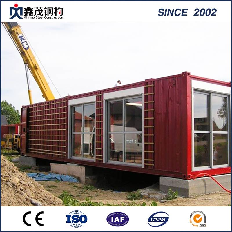 Easy Instal Prefab Shipping Steel Structure Container House