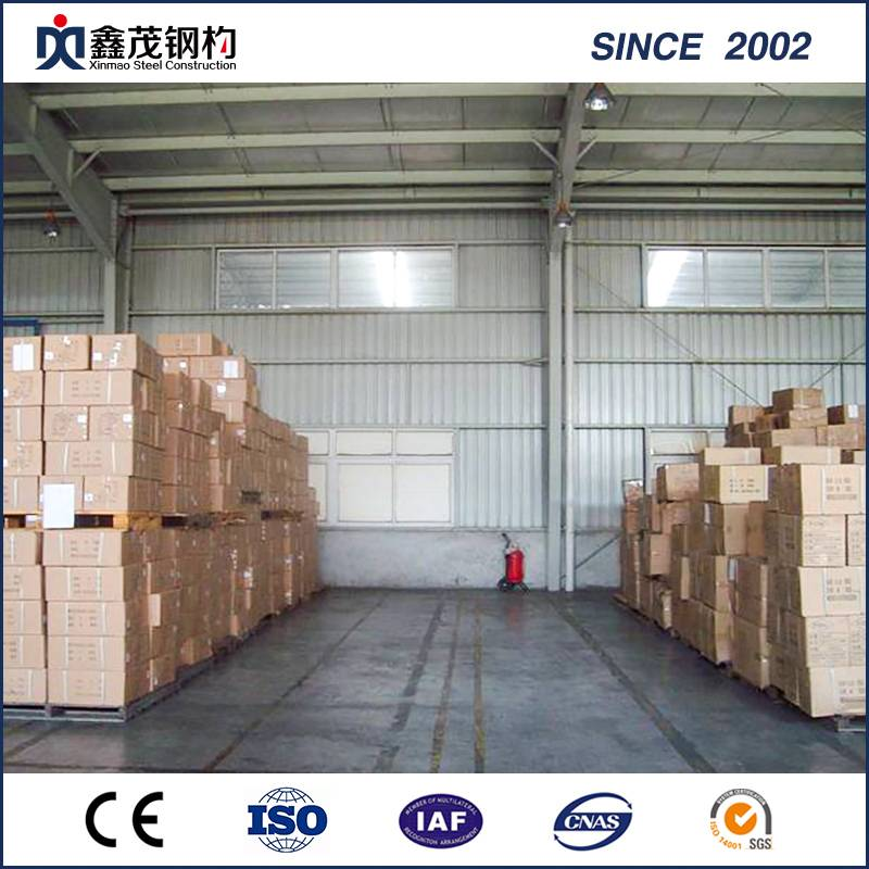 Economical Design Welded Metal Steel Construction for Warehouse