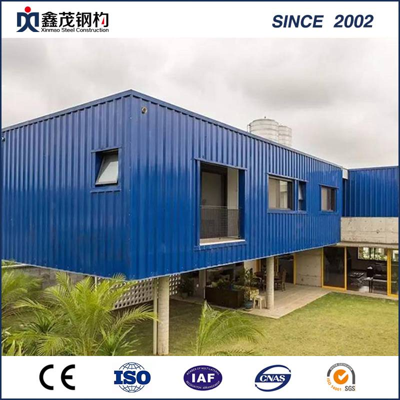 Elegant Fast Installation Portable Steel Modified Shipping Container House