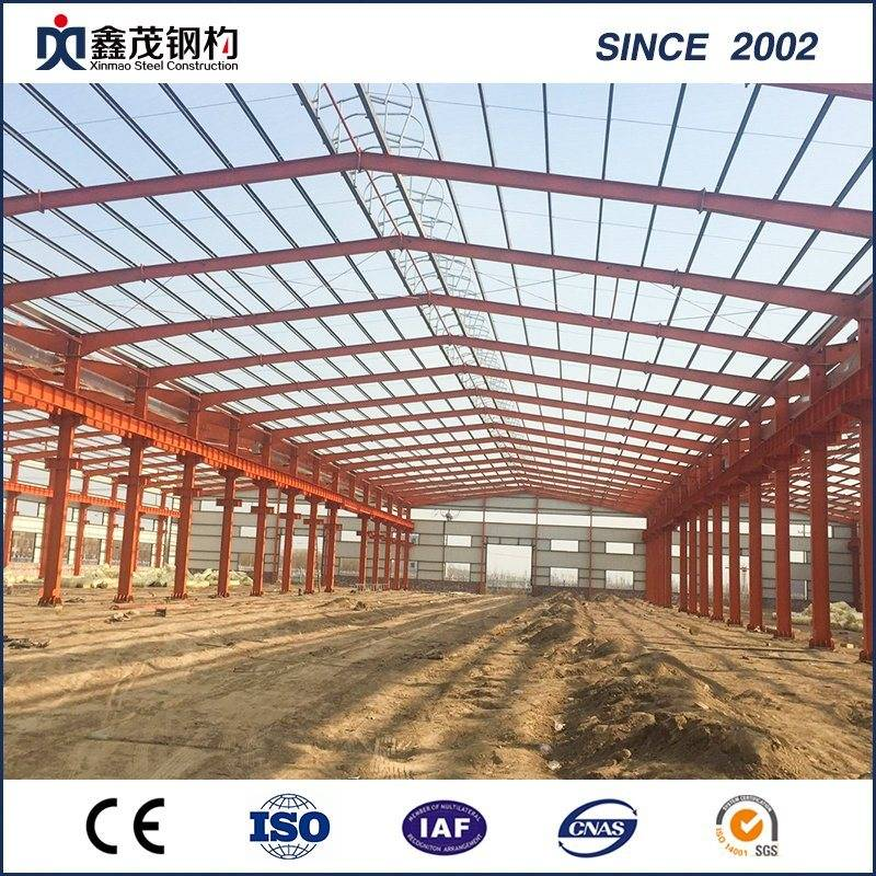 Fast Install Prefab Steel Frame Steel Structure Warehouse