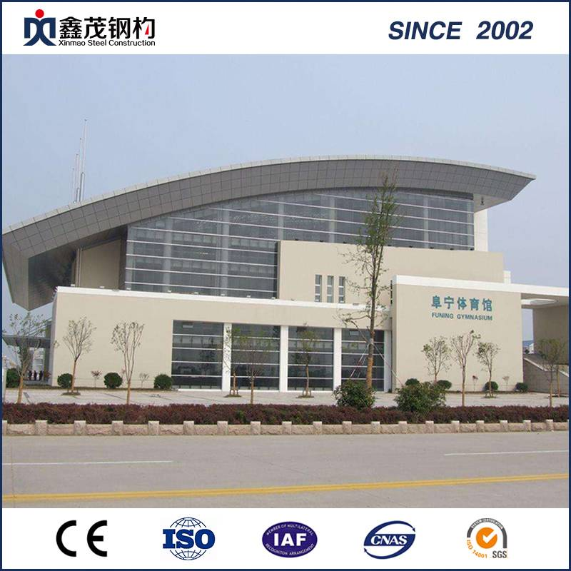 High Quality Prefab Building for Stadium (Prefabricated Steel Structure)