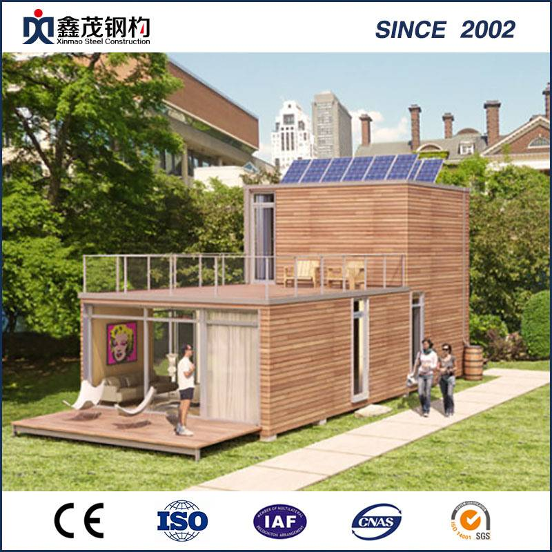 High Quality Prefab Steel Shipping Container House with Toilet