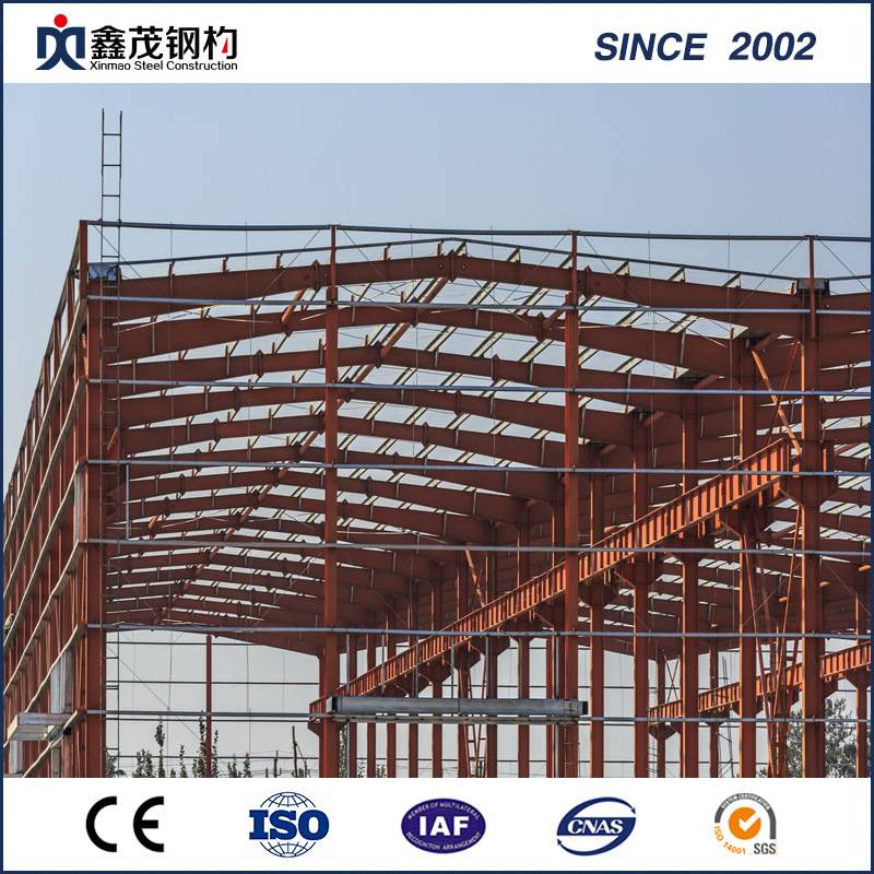 High-Rise Steel Structure/ Prefabricated Steel Frame Building for Projects