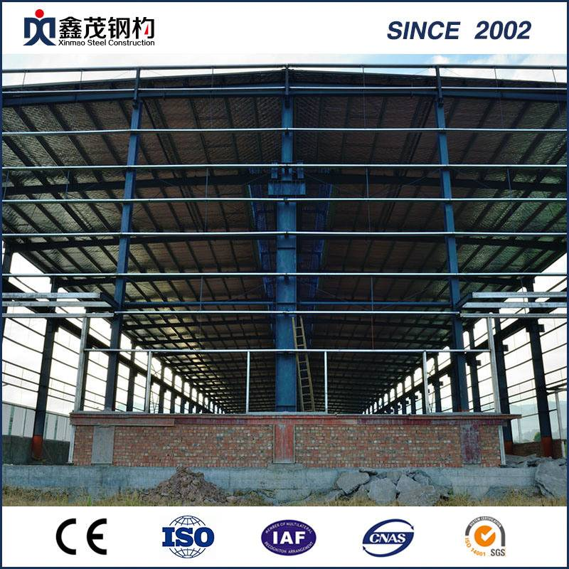 High Strength Galvanized Steel Structure Hangar for Prefabricated House