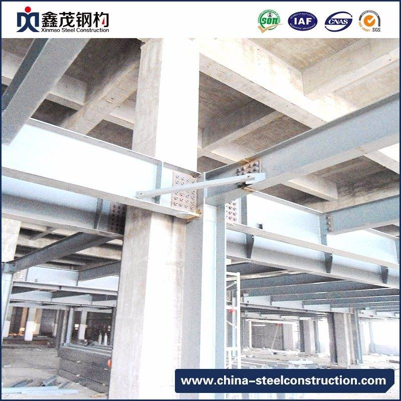 High Strength H Section Steel Structure Frame for Workshop