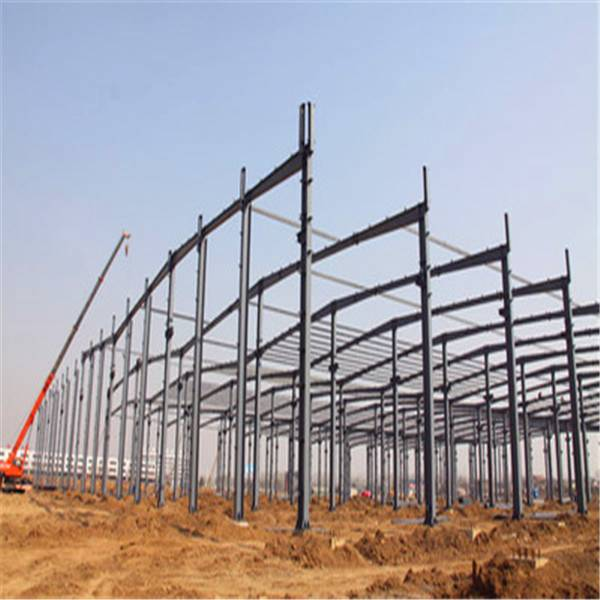 Large Span Prefab Steel Structure Construction From North of China