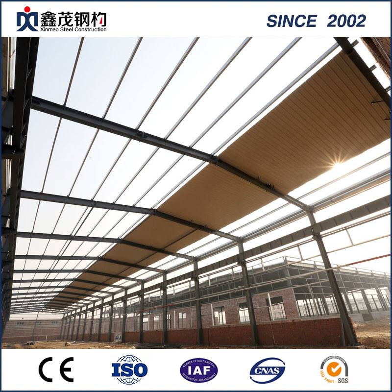 Large Span Steel Structure Construction Warehouse