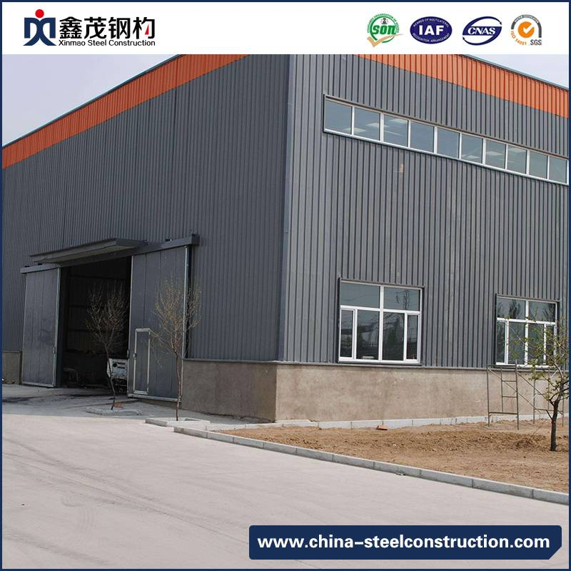 Low Cost Modular Steel Structure Building for Workshop and Warehouse