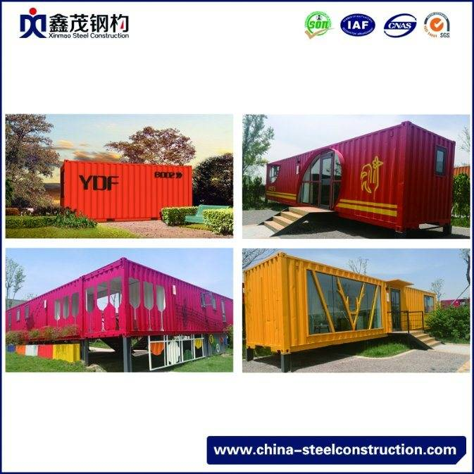Modern Design Prefabricated Modular Shipping Container House for Restaurant