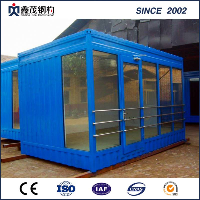 Modified 20 FT Shipping Container House for Single Department