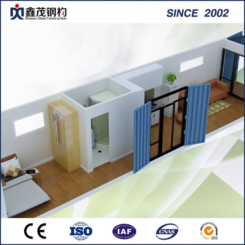 Modular Customized 20FT Container House with Sandwich Panels