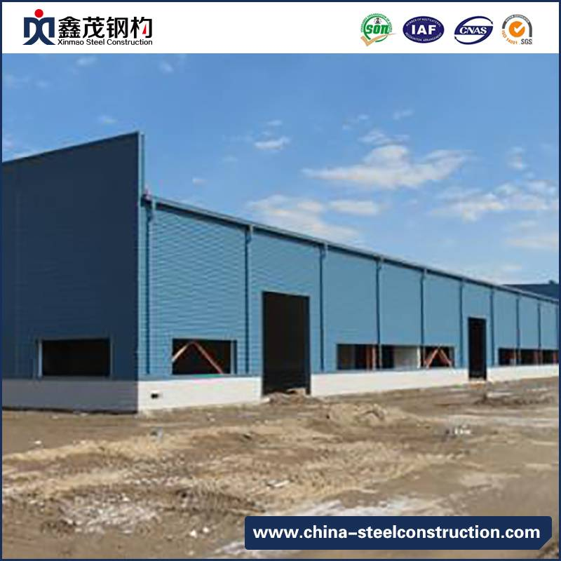Movable Prefabricated Steel Construction for Warehouse Building