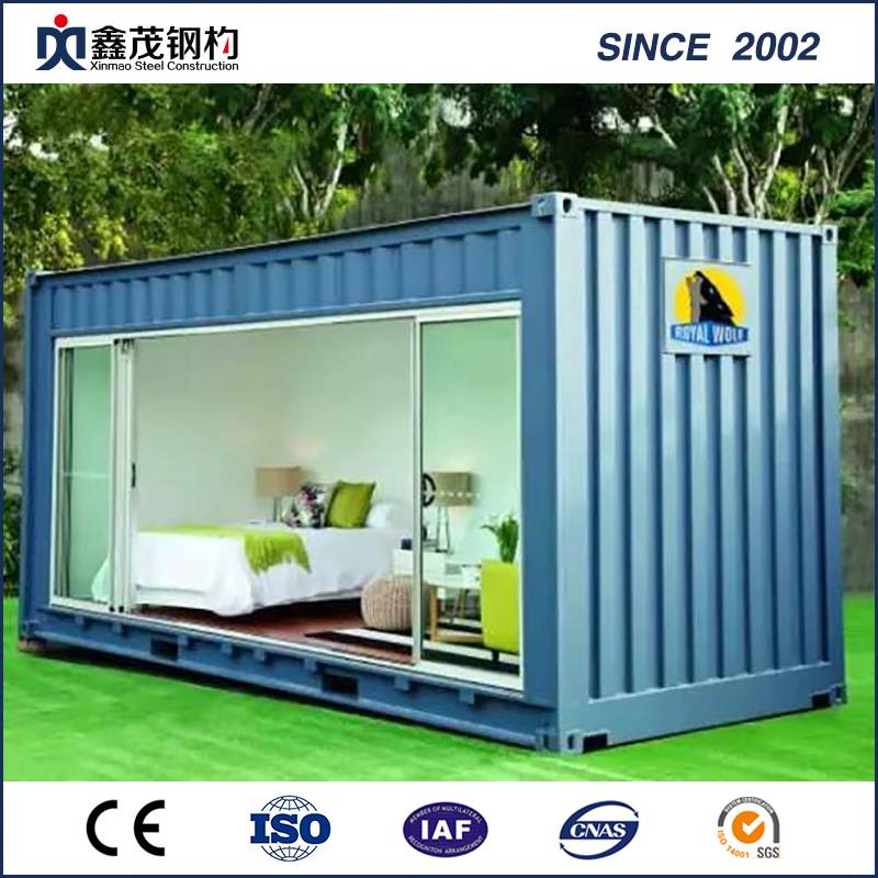 Portable Mobile Prefab Container House with Bathroom (Container Home)