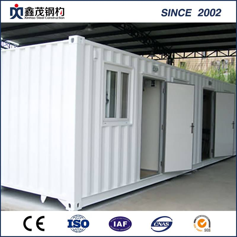 Portable Prefabricated Container House with Toilet and Living Room
