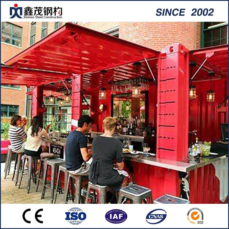 Prefab Flat Pack Container hus for Retail Container Shop