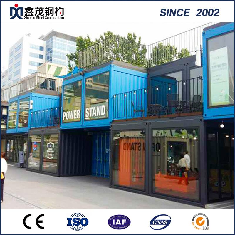Prefab Flat Pack Container House for Retail Container Shop
