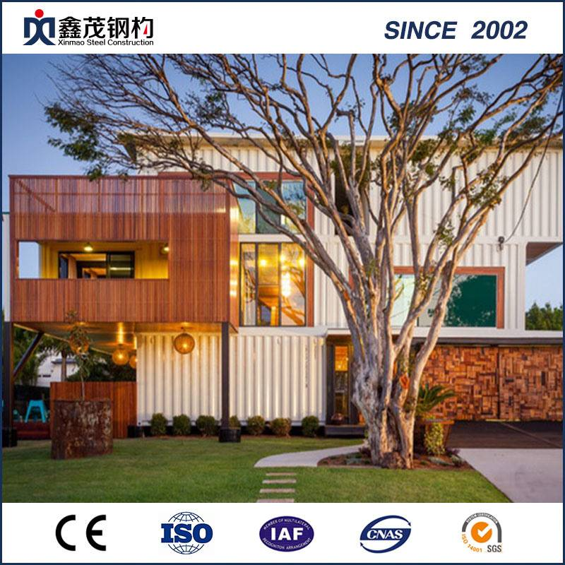 Prefab Prefabricated Mobile Modified Shipping Container House for Hotel
