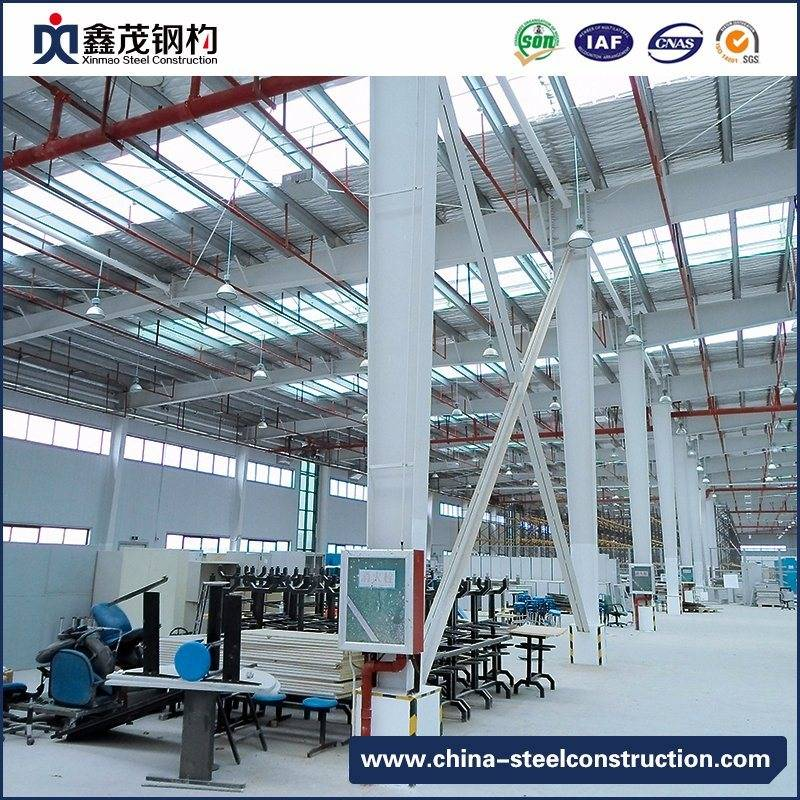 Prefab Steel Structure Two Story Building for Warehouse with Large Space