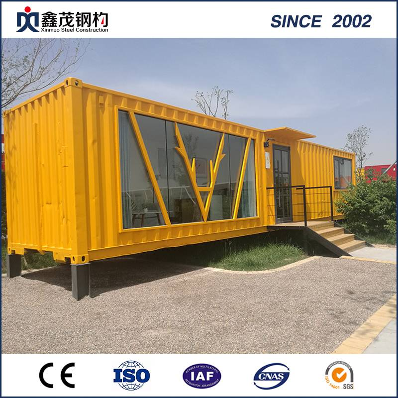Prefabricated Mobile Container House Shop with Sandwich Panel
