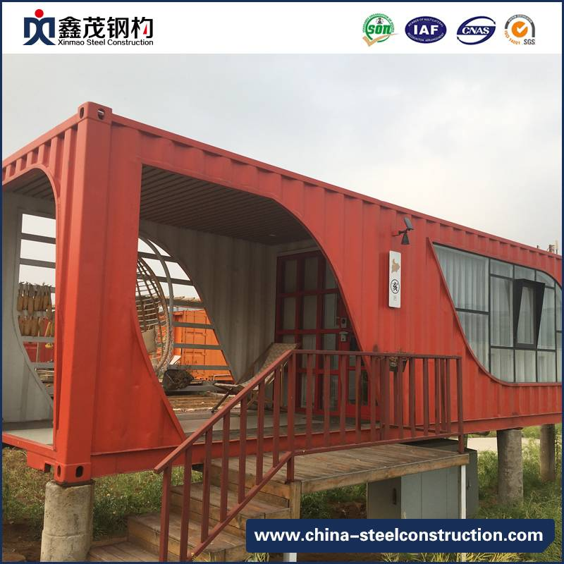 Prefabricated Mobile Shipping Container as Living House with Bathroom