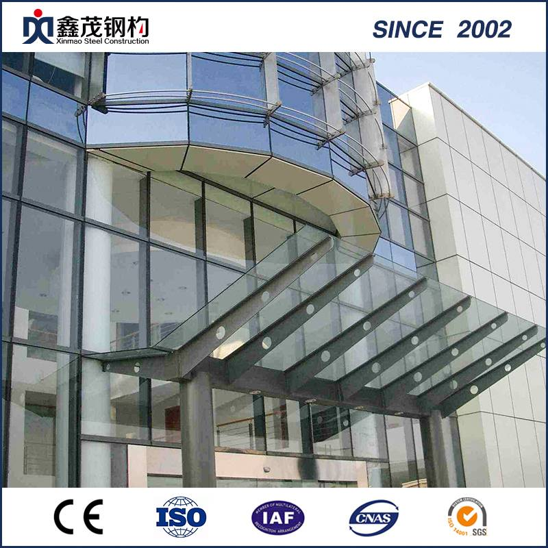 Prefabricated Steel Structure Steel Frame Building for Office