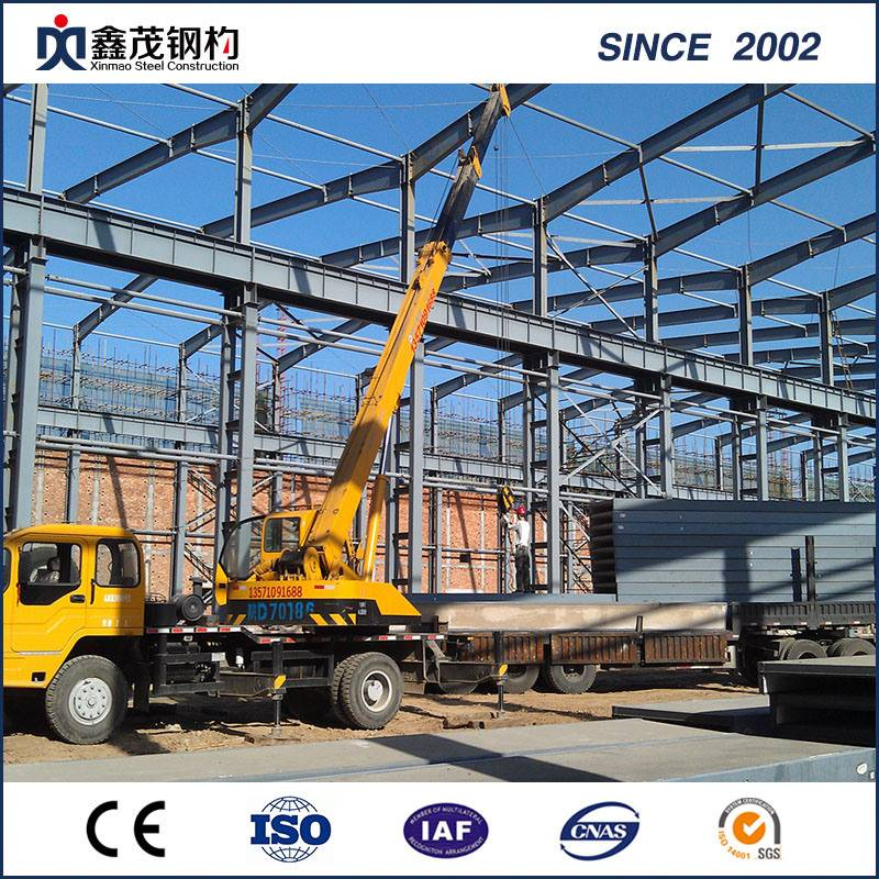 Prefabricated Sami Structure Steel di Steel Building Plant