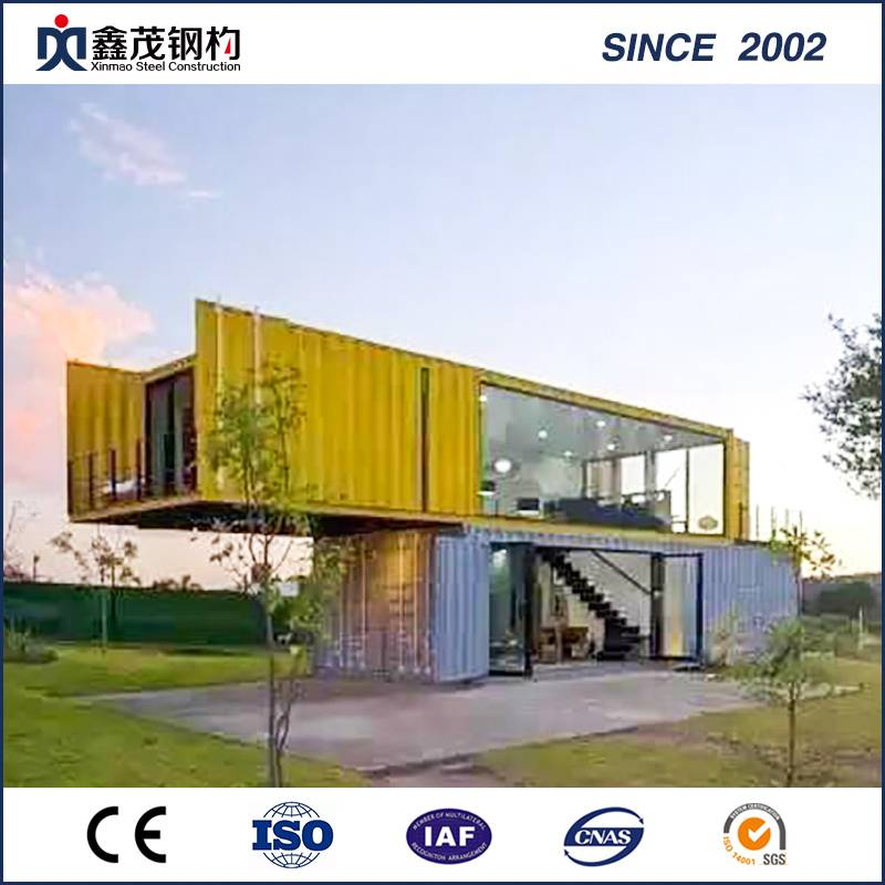 Rustproof Prefab Container House, Light Office Container Homes