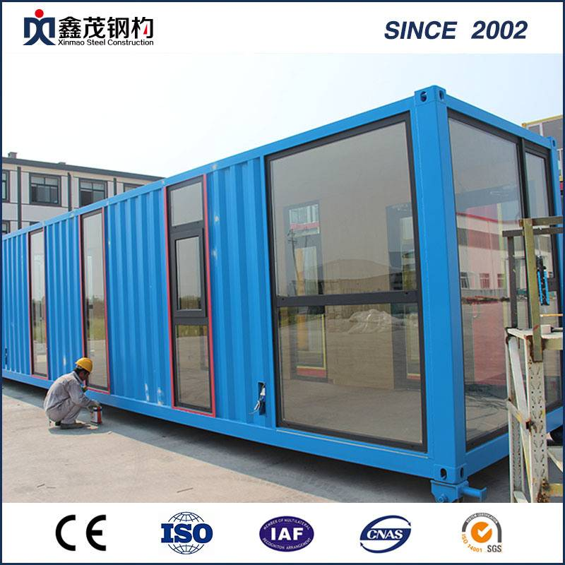 Sandwich Panel Prefabricated Container House for Single Apartment