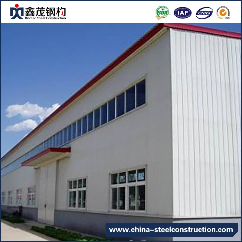 Sandwich Panel Steel Structure Building Fabricate Warehouse