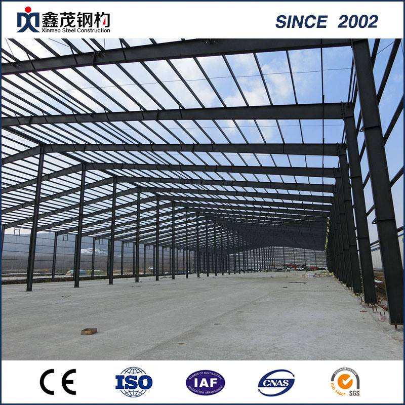 Steel Structure Sandwich Panel Prefabricated House for Steel Structure Warehouse