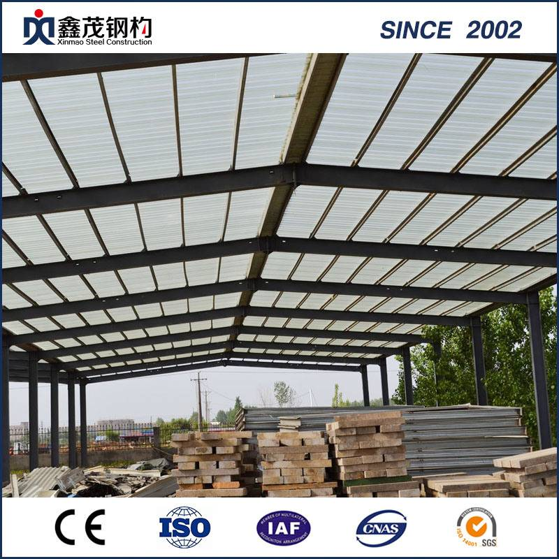 Steel Structure Warehouse Building Made by Galvanized Steel