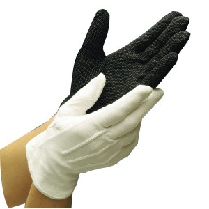 Unisex stretch Nylon parade ceremonial gloves Item No.: HMD-50