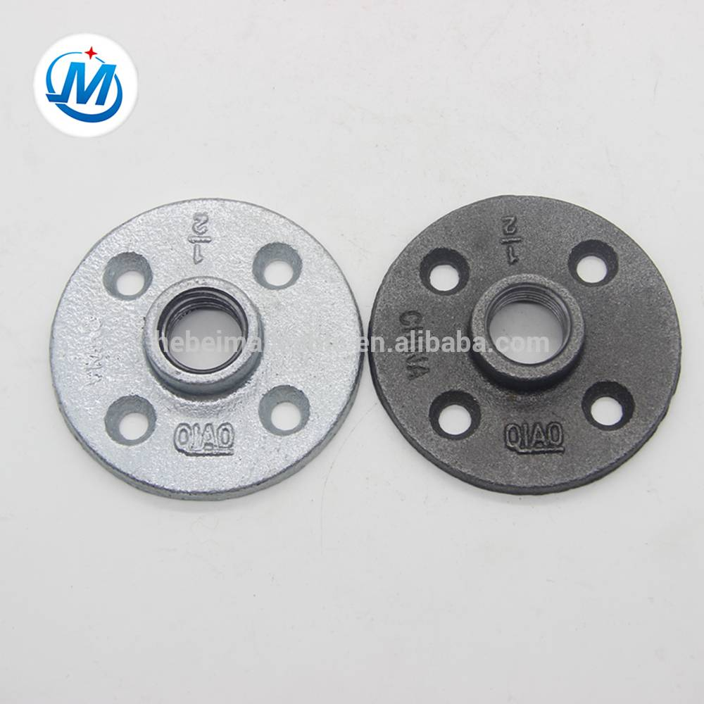 malleable cast iron pipe flanges,black iron pipe flange adapter