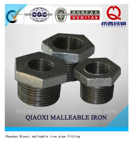 water faucet fitting reducing hexagon bushes fitting