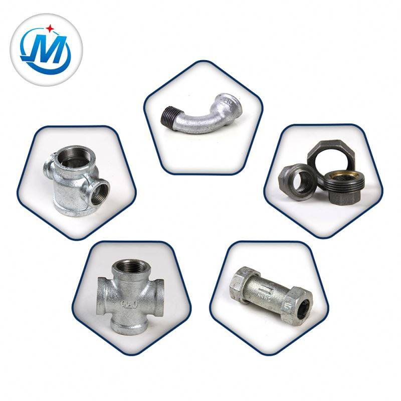 galvanized bspt thread malleable fittings pipe casting