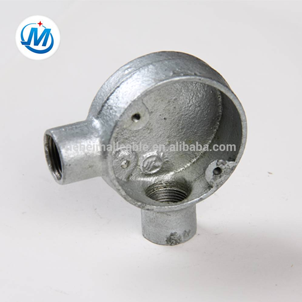 galvanized metal electric angle conduit box,junction box