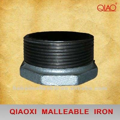 150# hot dipped galvanized malleable iron pipe fittings reducing hexagon bushing