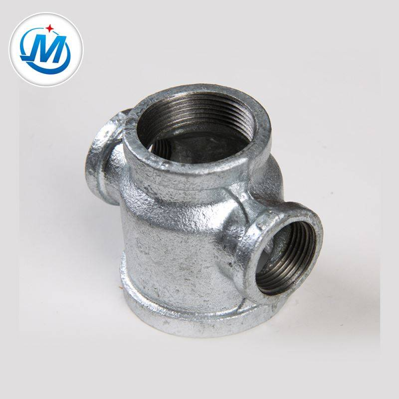 Producing Safely For Air Connect As Media Malleable Iron Reducer Cross Pipe Fitting