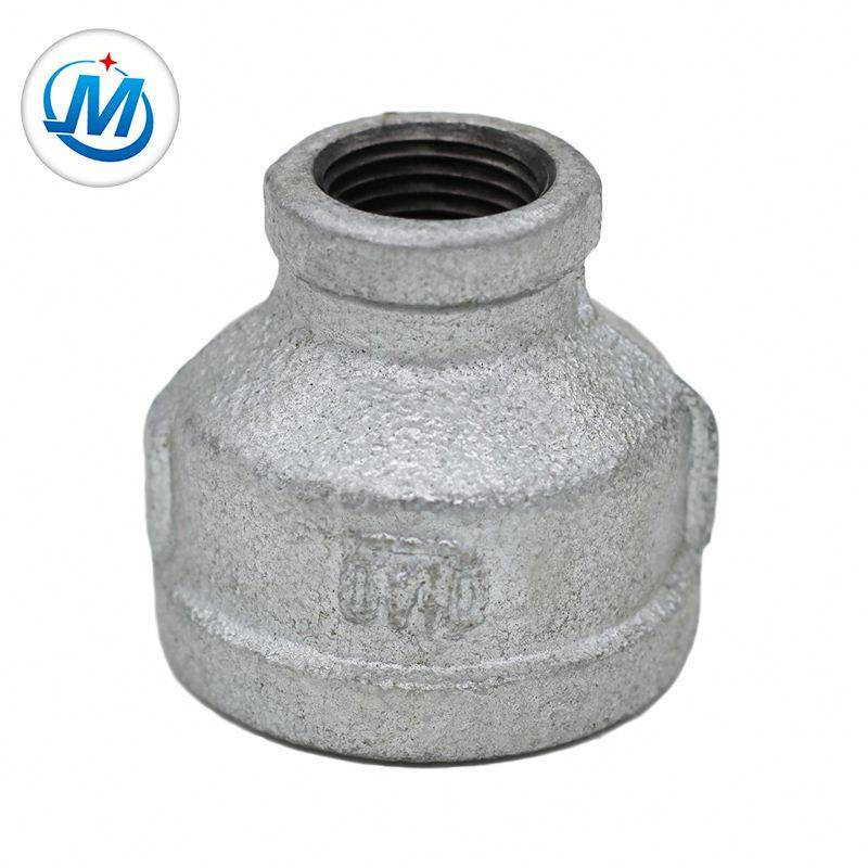 Npt Thread Gi Malleable Iron Pipe Fitting Reducing Socket