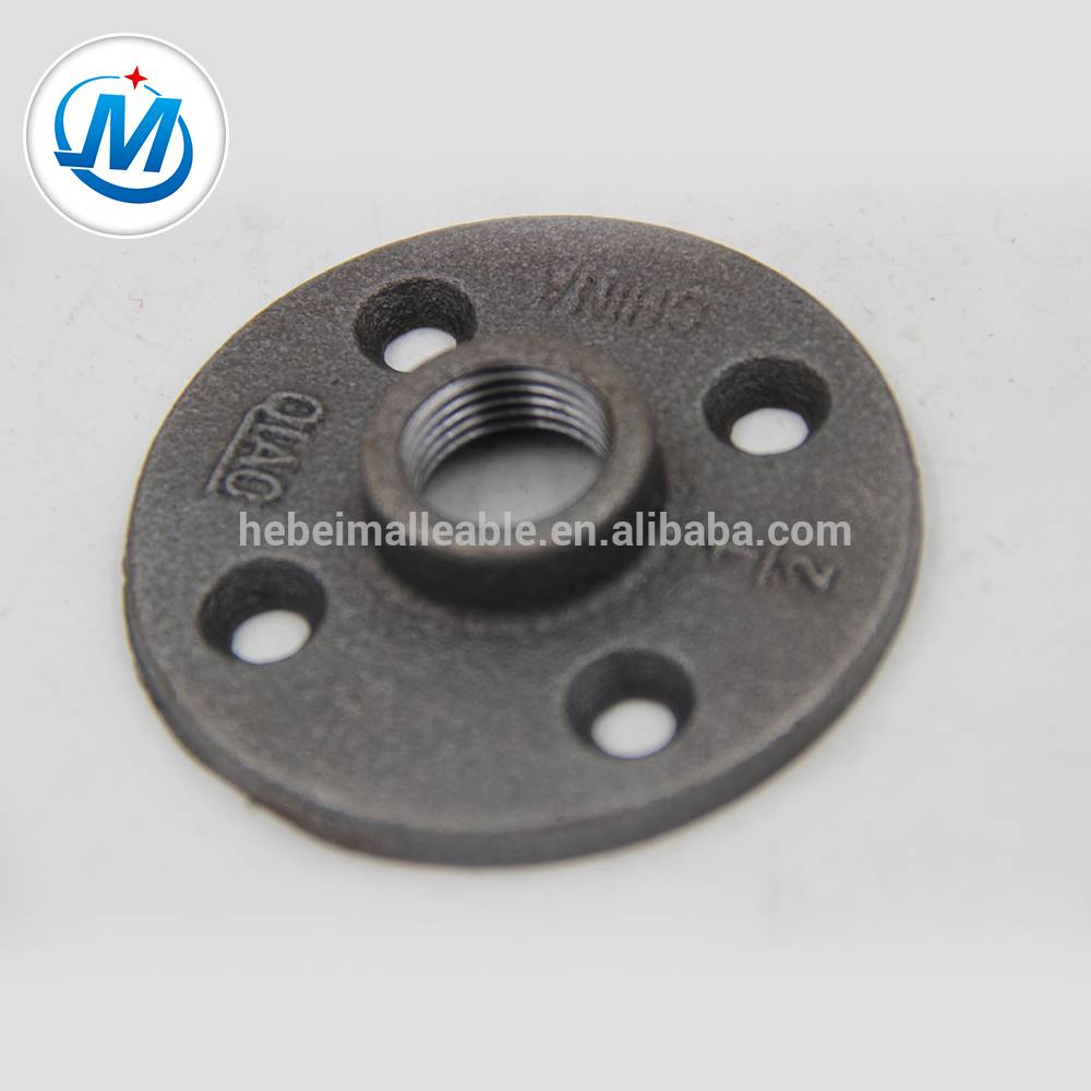"QIAO150 lbs 3/4 ""malleable pipe wesi fitting cagak thread karo papat bolongan"