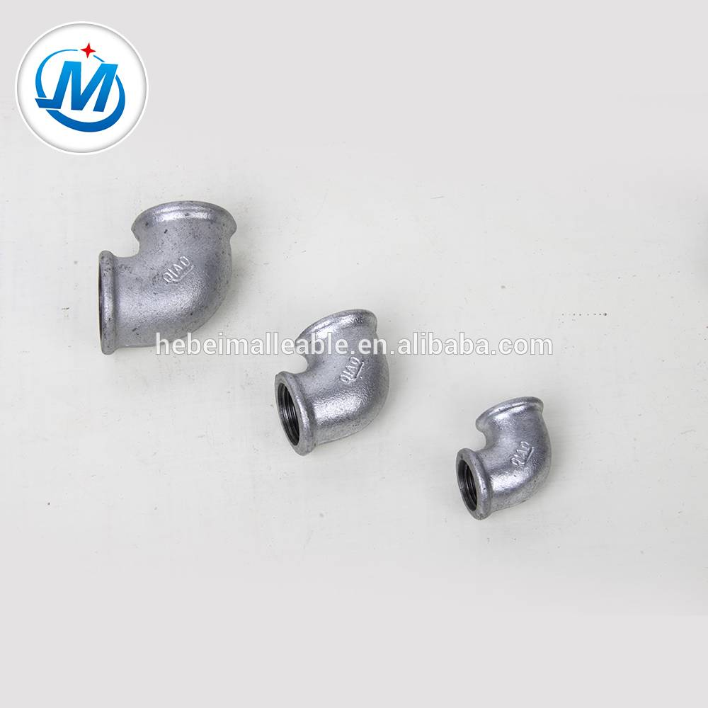 QXM brand malleable iron pipe fitting elbow