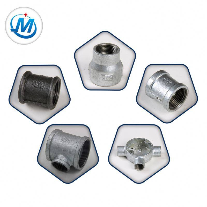 galvanized malleable iron pipe fitting for irrigation system