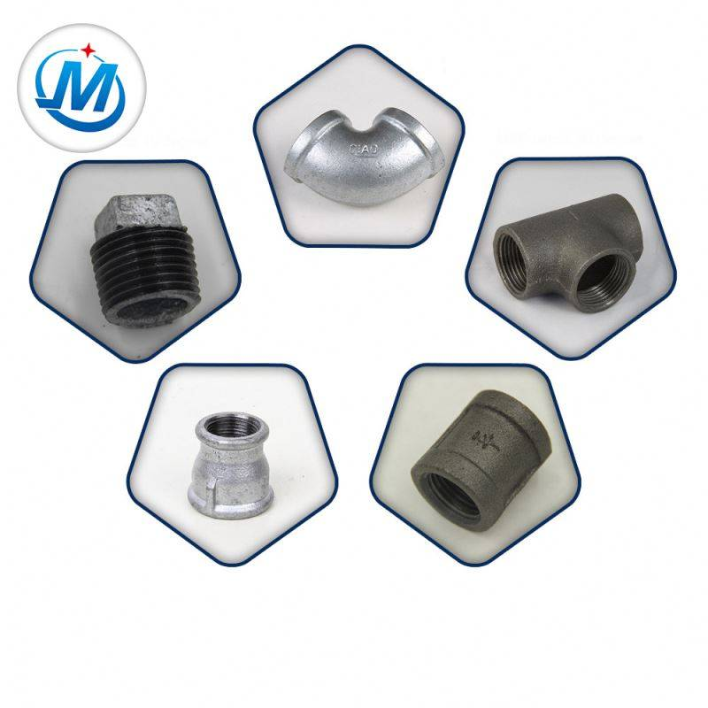Sell All Over the World For Oil Connect New Design China Malleable Cast Iron Fittings Support