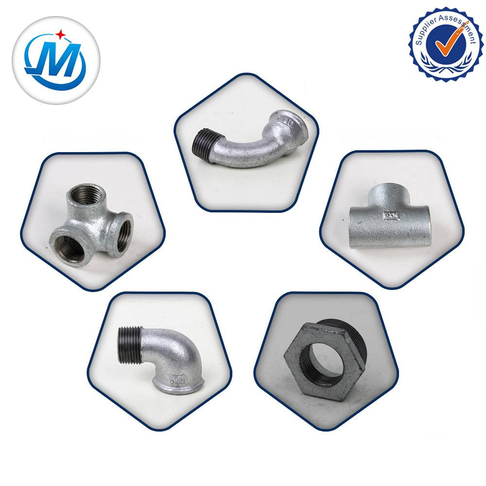 Black Malleable Iron Pipe Fitting cross tee