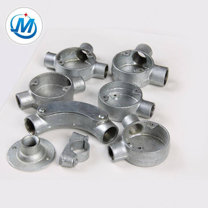 Gas Connect Malleable Iron Conduit Junction Box For Professional Enterprise